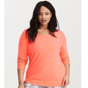 Torrid strappy back sweatshirt size 3x